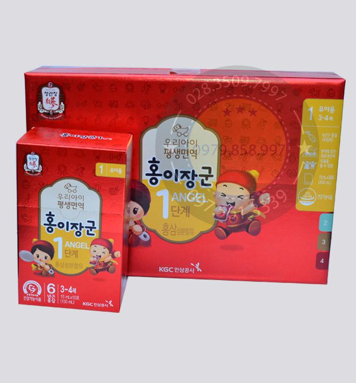 Nước Hồng Sâm Trẻ Em KGC Hàn Quốc, Nước Hồng Sâm KGC, Sâm Yến Anh Anh