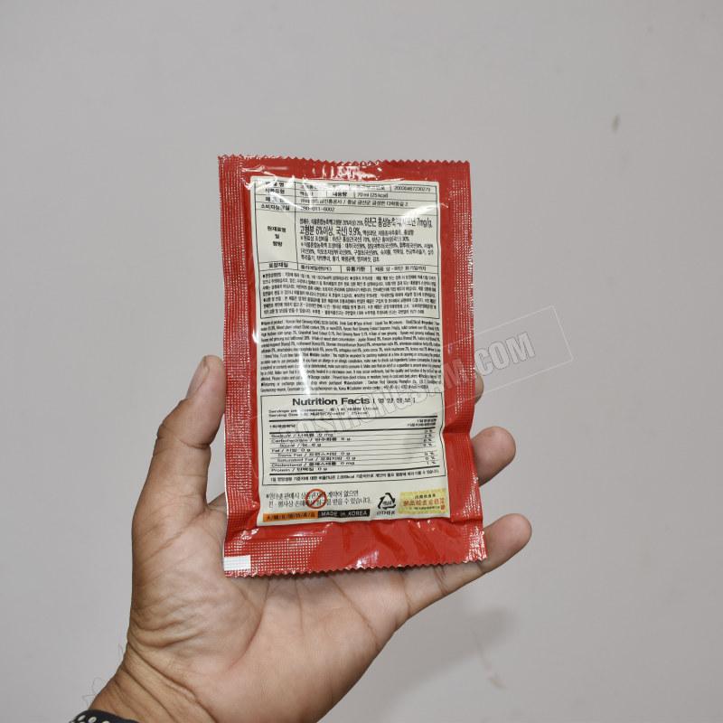 Nước hồng sâm Daehan Hàn Quốc 70ml x 24 gói