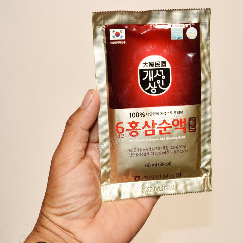 Nước hồng sâm Nonghyup 100% 60ml x 30 gói