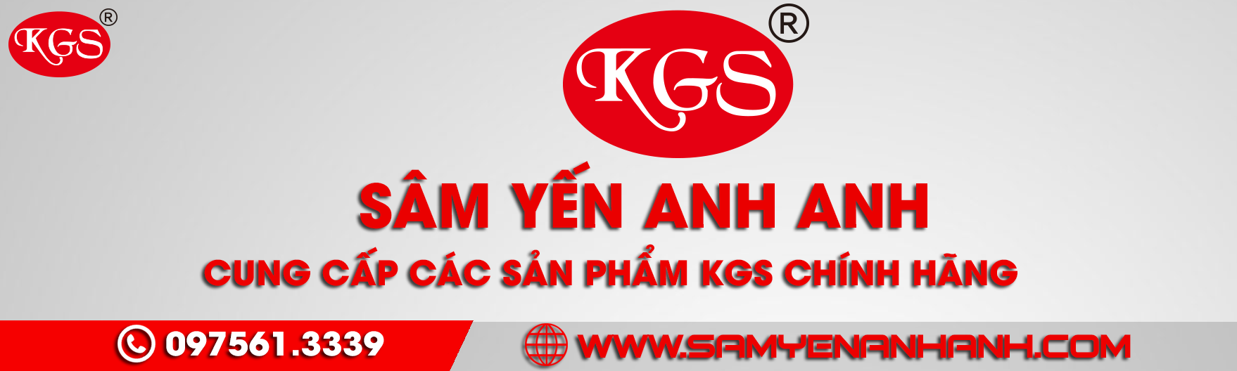 banner kgs sâm yến anh anh mới