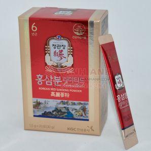 Bột Hồng Sâm KGC Hàn Quốc 1,5 gam x 20 Gói