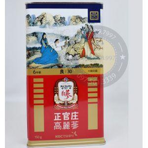 Hồng Sâm Củ Khô KGC Chính Phủ Hàn Quốc 30PCS 150gam