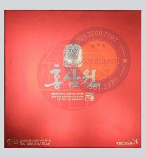 Nước Hồng Sâm 6 Năm Tuổi KGC Hàn Quốc Cao Cấp 70ml x 30 Gói