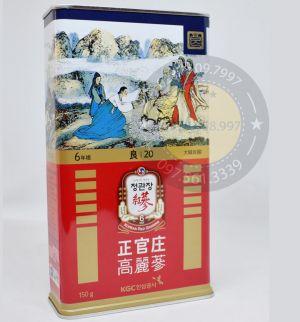 Sâm Củ Khô KGC Chính Phủ Hàn Quốc 20PCS 150 Gam