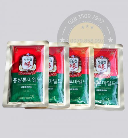 Nước Hồng Sâm Nguyên Chất KGC Hàn Quốc 50ml x 30 Gói