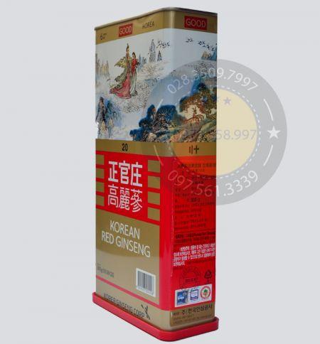 Hồng Sâm Củ Khô KGC Chính Phủ Hàn Quốc 14 Củ 300gam