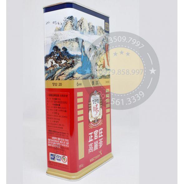 Hồng Sâm Củ Khô KGC Chính Phủ Hàn Quốc 20PCS 300gam
